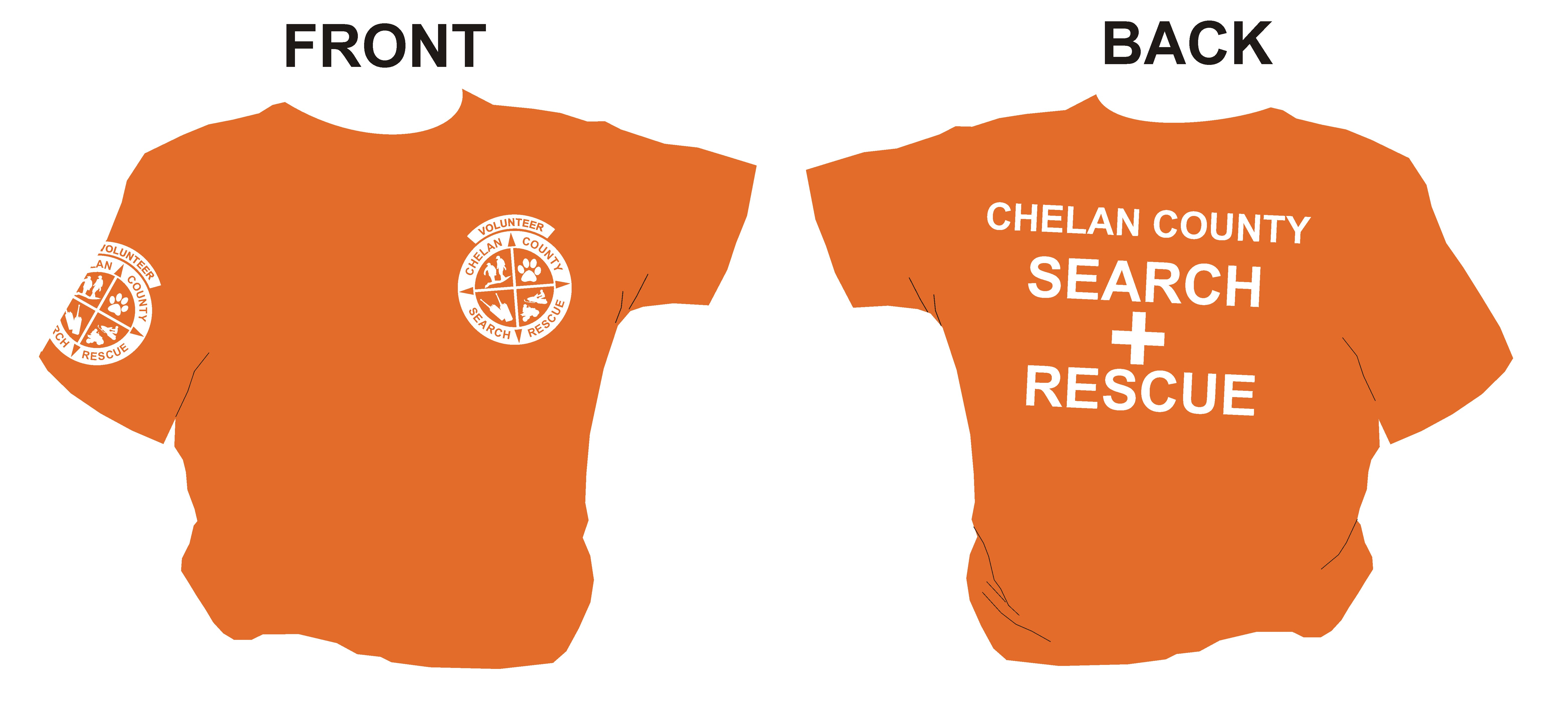 Tshirt example-FRONT & BACK